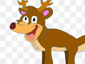 Reindeer - Reindeer Horse Antler Snout Clip Art PNG