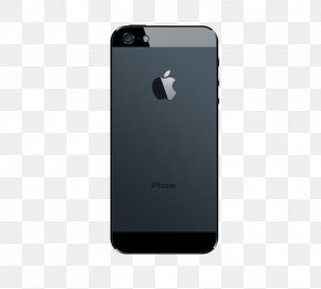 Black IPhone,5 On The Back - Smartphone Feature Phone IPhone 5s IPhone 5c PNG
