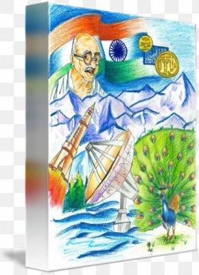 Incredible India - Watercolor Painting India Drawing Art PNG