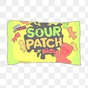 Candy - Sour Patch Kids Gummi Candy Berry PNG
