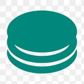 Macarons - Teal Turquoise Green Circle Logo PNG