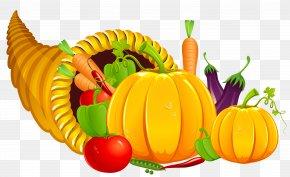 Thanksgiving Cornucopia Clipart - Cornucopia Thanksgiving Clip Art PNG