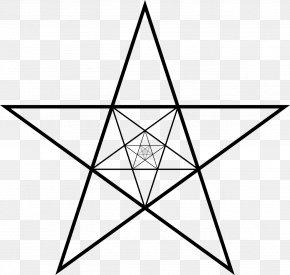 Star - Pentagram Pentagon Star Polygon Regular Polygon PNG