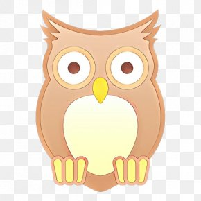 Snowy Owl Animal - Heart Emoji Background PNG