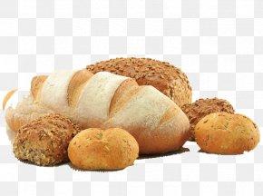 Bread - Rye Bread Bakery Baguette Small Bread PNG