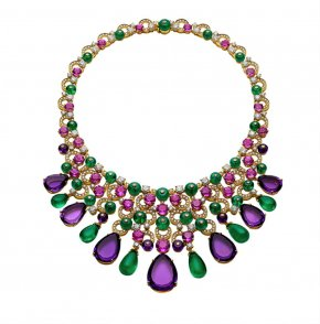 Jewelry - Earring Jewellery Necklace Diamond Bulgari PNG