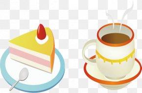 Coffee Cartoon - Coffee Cup Cafe Chocolate Cake Clip Art PNG