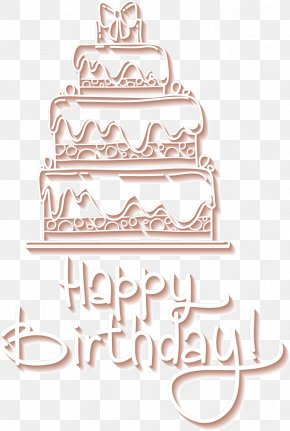 Happybirthday - Bakery Christmas Cake Muffin Cake Decorating PNG