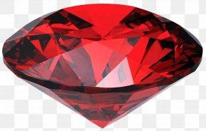 Ruby Gem - Ruby Gemstone Transparency And Translucency PNG