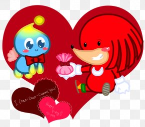 Valentine's Day - Valentine's Day Character Flower Clip Art PNG