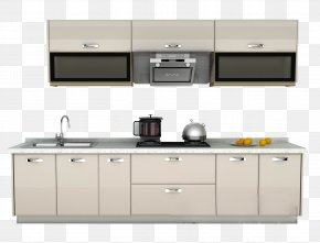 Kitchen Combination - Kitchen Cabinet Furniture Cupboard PNG