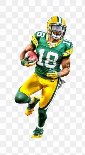 American Football Player - NFL Football Helmet Green Bay Packers American Football PNG