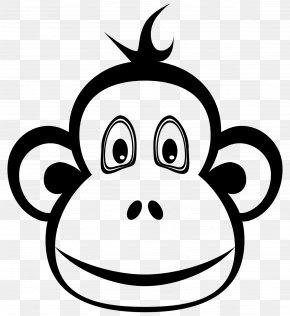Monkey - Ape Monkey Chimpanzee Clip Art PNG