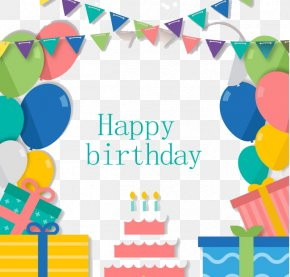 Birthday Posters - Birthday Cake Paper Party Greeting Card PNG