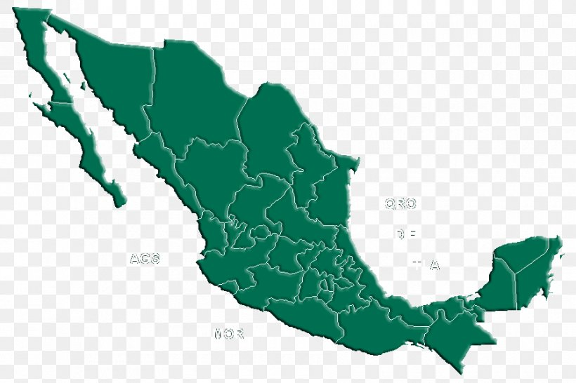Mexico Mapa Polityczna Png 900x600px Mexico Country Flag Of