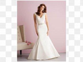 Dress - Wedding Dress Bride Gown Formal Wear PNG