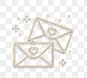 Metal Triangle - Wedding Love Background PNG