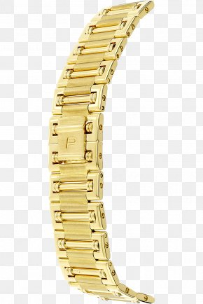 Yellow Dancer - Colored Gold Jewellery Watch Strap Metal PNG