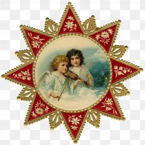 Angels - Christmas Ornament Angel Santa Claus Clip Art PNG