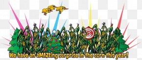 Corn Maze - Corn Maze Maize Farm Clip Art PNG