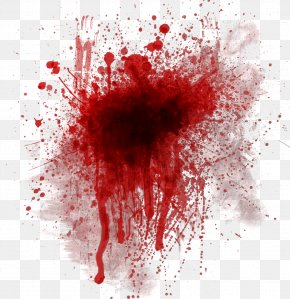 Bright Red Blood - Bloodstain Pattern Analysis Clip Art PNG