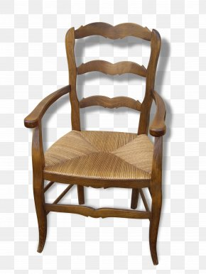 Chair - Chair Accoudoir Fauteuil Furniture Wood PNG