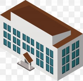 Coffee Roof - Roof Facade Architecture PNG