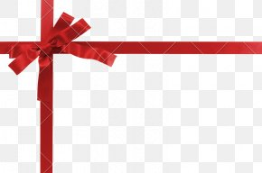 Red Ribbon - Gift Red Stock Photography Royalty-free Ribbon PNG