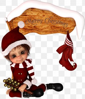 Doll - Christmas Ornament Ded Moroz Elf Santa Claus PNG