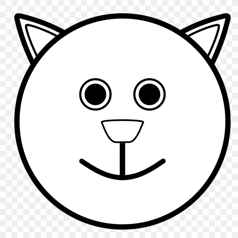 Happy Face Coloring Sheet
