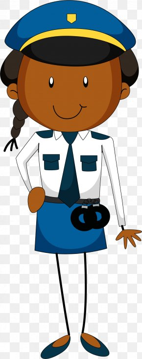Cartoon Policewoman - Police Officer Royalty-free Clip Art PNG