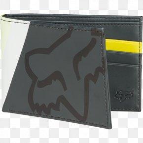 Wallet - Fox Wallet Clothing Accessories Fox Racing PNG