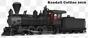 Train - Railroad Car Sierra Railroad Rail Transport Train Passenger Car PNG