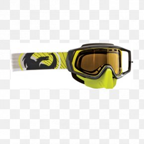 Flying Debris - Snow Goggles Winter Glasses Snowmobile PNG