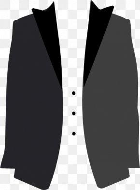 Cliparts Suit Jacket - Tuxedo Suit Jacket Coat Clip Art PNG
