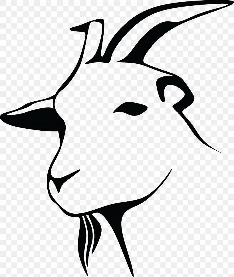 Boer Goat Line Art Drawing Clip Art, PNG, 4000x4739px, Boer Goat, Art, Artwork, Beak, Black Download Free