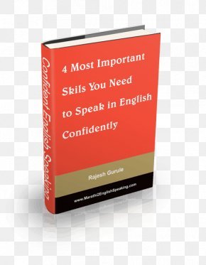 Speak English - Book MLA Style Manual Grammar Writing Information PNG