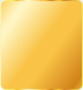Gold Square - Gold Desktop Wallpaper Metal PNG