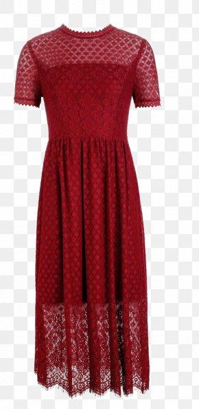 Wave Dot Pattern Lace Skirt - Skirt Lace Dress Designer PNG