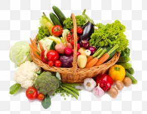 Fresh Fruits And Vegetables - Vegetable Food Tomato Grocery Store Salad PNG
