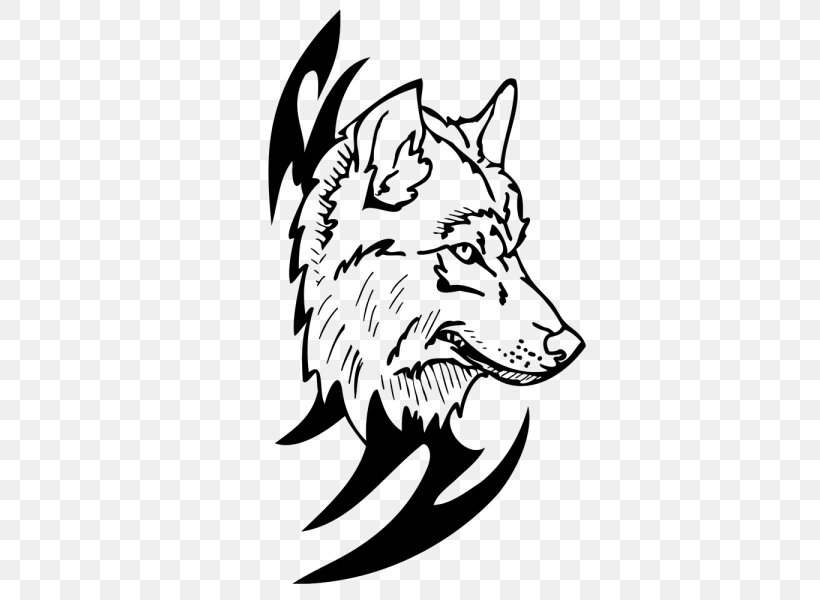 Furry Art Drawing Blue And Black Wolf