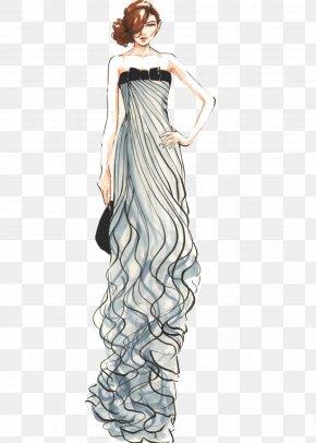 Beautiful Dress - Gown Fashion Illustration Illustration PNG