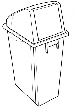 Pictures Of A Recycling Bin - Recycling Bin Rubbish Bins & Waste Paper Baskets Clip Art PNG