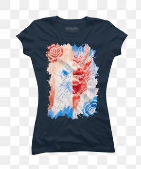 T-shirt - T-shirt Watercolor Painting Art Fresco PNG
