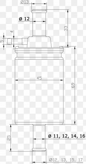 Pressure Measurement - Technical Drawing Paper Diagram PNG