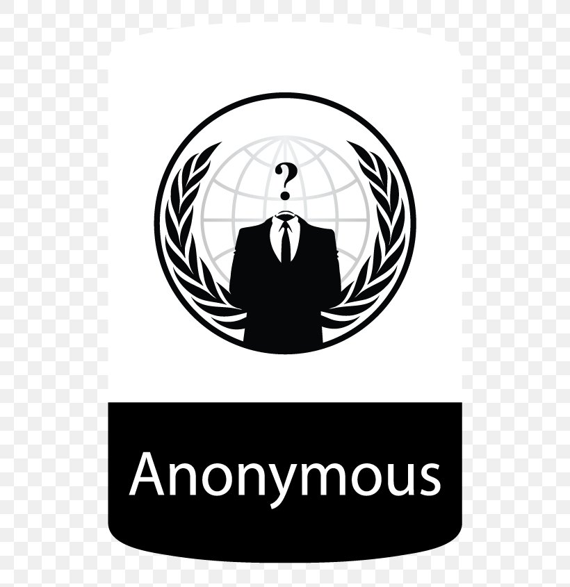 Anonymous Sticker Decal Guy Fawkes Mask Organization, PNG, 570x845px, Anonymous, Area, Black, Black And White, Brand Download Free
