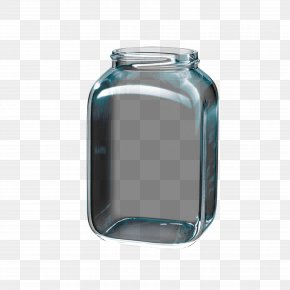 Transparent Glass Jars Free Pull Material - Glass Jar Transparency And Translucency Euclidean Vector PNG