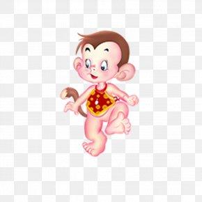 New Monkey Cartoon Elements - Monkey Cartoon PNG