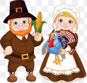 Free To Pull The Couple - Pilgrim Royalty-free Clip Art PNG