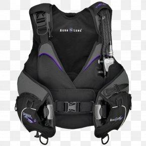 Diver - Aqua-Lung Buoyancy Compensators Diving Equipment Aqua Lung/La Spirotechnique Scuba Set PNG
